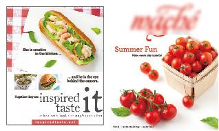 美食宣传册